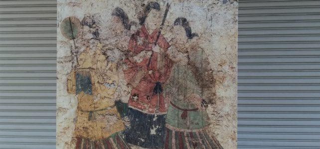 高松塚古墳壁画の見学に行ってきました。