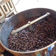 アイスコーヒーリキッド用 焙煎中
