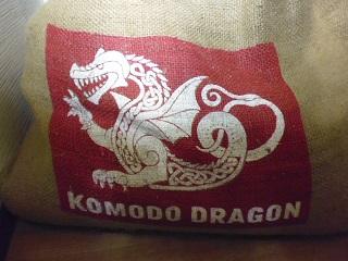 コモドドラゴン麻袋