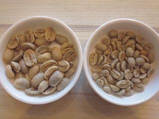 生豆(マラゴジッペ&イルガ)