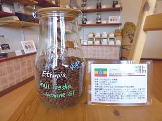 残り僅か-9月限定豆 エチオピア グジ ゲイシャ ジャスミンG1