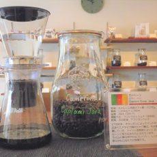 水出しコーヒー抽出中